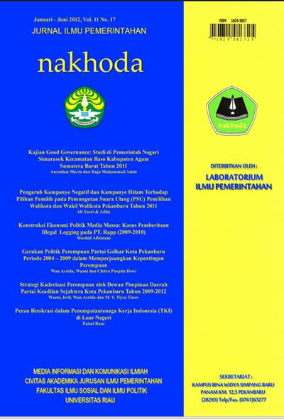 Lihat Vol 11 No 17 (2012)